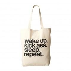 Wake Up. Kick Ass. Tote