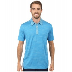 PUMA Golf Heather Stripe Polo