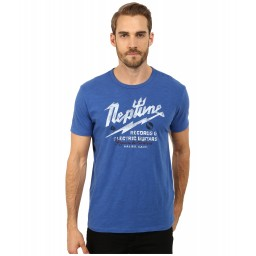Lucky Brand Neptune Records Graphic Tee